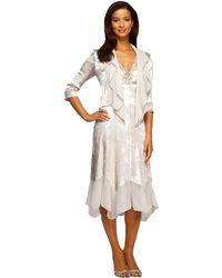 Alex Evenings - Dress And Jacket Set - Lyst