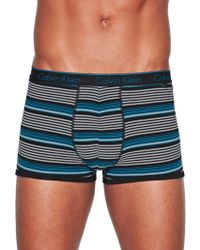 Calvin Klein Single Stripe Trunks - Lyst