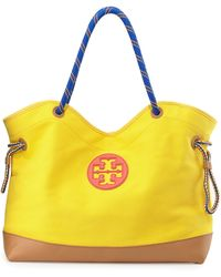 Tory Burch Kellyn Canvas Tote Bag - Lyst