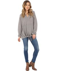 Culture Phit - Jaimi Comfy Hoodie With Drawstring Waist - Lyst
