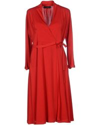 Twin Set Knee-length Dress - Red
