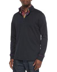 Robert Graham - Harbor Quarter-zip Pullover Sweater - Lyst