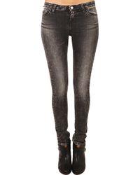Iro Rayanne Skinny Mid Rise Jean - Lyst