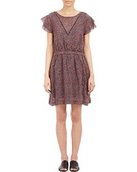 Boy by Band of Outsiders - Floral Voile Dress - Lyst