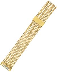 Vince Camuto - Drapey Chain Fringe Cuff Bracelet - Lyst