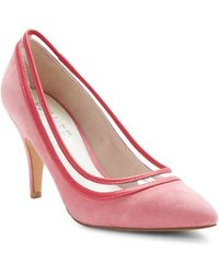 Ron White - Myth Suede Court Shoes - Lyst