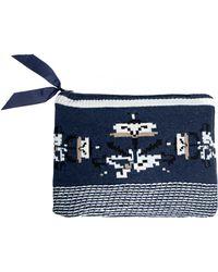 Pixie Market | Owl Knit Clutch | Lyst