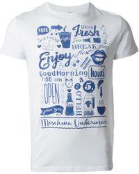 Moschino Good Morning Print T-shirt - Lyst