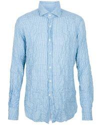 Incotex Shirt - Lyst