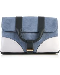 Jason Wu - Hanne Colour-Block Suede Clutch - Lyst