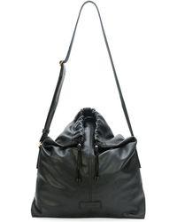 Alexander McQueen Mens Leather Crossbody Bag - Lyst