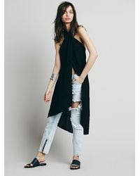 Free People Womens Sleeveless Wrap Maxi - Lyst