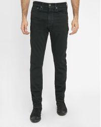 Levi's | Black 522 Pr Tapered Pressed Slim-fit Jeans | Lyst