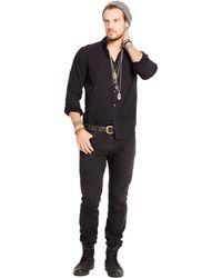 fe967d66d2 Denim   Supply Ralph Lauren - Polka-dot Poplin Sport Shirt - Lyst