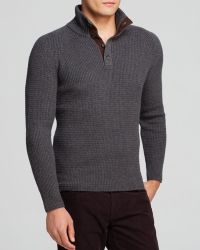 Bloomingdale's Cashwool 4-Button Sweater - Bloomingdale'S Exclusive - Gray