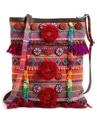 TOMS - Multi Pattern Embellished Crossbody Bag - Lyst