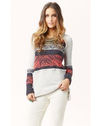 Free People Snow Angel Pullover - Lyst