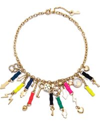 Marc By Marc Jacobs Bow Tie Mash Up Necklace Multi - Lyst