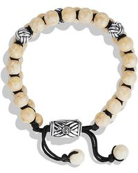David Yurman Spiritual Beads Two-row Bracelet - Lyst