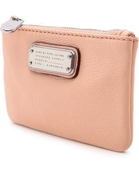 Marc By Marc Jacobs New Q Key Pouch - Tropical Peach - Pink