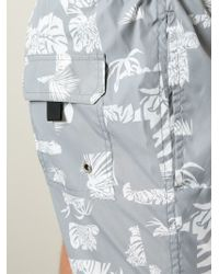 Paolo Pecora - Floral-Print Swim Shorts - Lyst
