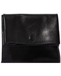 Adaism | Women's Saco De Papel Small Bag In Black Goatskin | Lyst