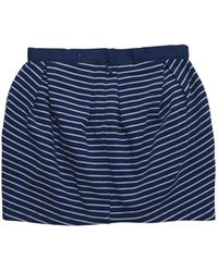 Stella McCartney Pom Striped Skirt - Lyst