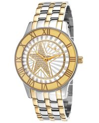 Thierry Mugler Women'S Two-Tone Stainless Steel White Dial - Lyst