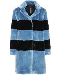Marc By Marc Jacobs Airglow Faux Fur Coat - Lyst