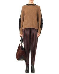 Toga Pulla - Woolblend and Alpacapatch Sweater - Lyst