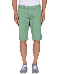 Knowledge Cotton Apparel - Bermuda Shorts - Lyst