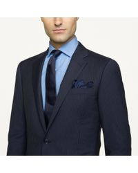 Ralph Lauren Black Label Pinstriped Anthony Suit - Lyst