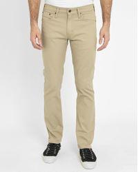 Levi's | Beige 511 Denim Jeans | Lyst