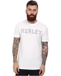 Hurley Stitched Dri-Fit Tee - Lyst
