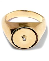 George Frost - Gold-plated Poison Justice Ring - Lyst