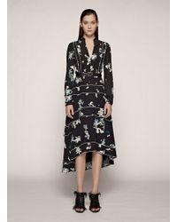 Proenza Schouler Long Sleeve Dress - Lyst