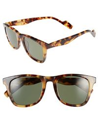 Crimson Visual | 'woodbridge' 54mm Polarized Sunglasses - Havana Tortoise | Lyst