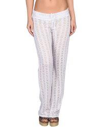 Debbie Katz Beach Trousers white - Lyst