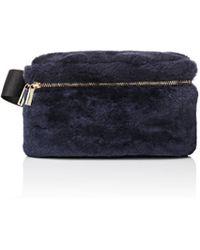 Barneys New York - Shearling Belt Bag - Lyst