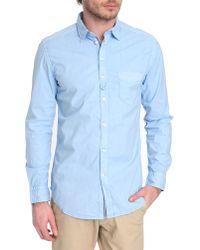 Diesel Tomiko Sky Blue Shirt - Lyst