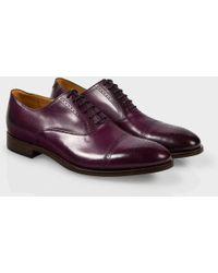 Paul Smith Damson Calf Leather Berty Brogues - Lyst
