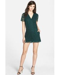 Chelsea28 Nordstrom - Lace Romper - Lyst