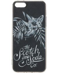 Scotch & Soda - Transparent Iphone 5 Case With Cards - Lyst