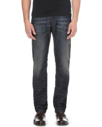 Diesel Belther Slim-fit Tapered Jeans 30 - Lyst