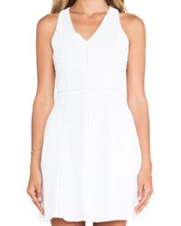 Greylin Patricia Embroidered Fit Flare Dress - Lyst