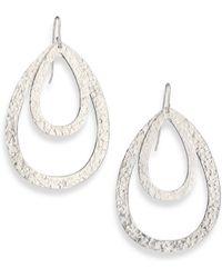 Stephanie Kantis Paris Double Teardrop Earrings - Lyst