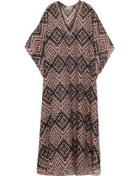 Temperley London - Printed Cotton And Silk-Blend Kaftan - Lyst