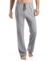 Hanro Robin Frenchterry Lounge Pants Gray - Lyst