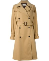 Paul by Paul Smith - Belted Trench Coat - Lyst