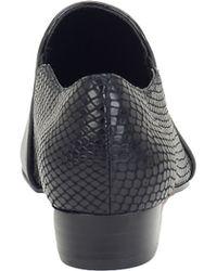 Isola - Leather Slip-on Booties - Lyst